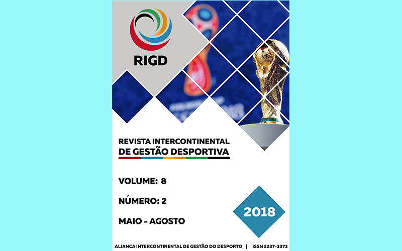 DISPONIBLE EL Nº 2 DE 2018 DE LA REVISTA INTERCONTINENTAL DE GESTÃO DESPORTIVA