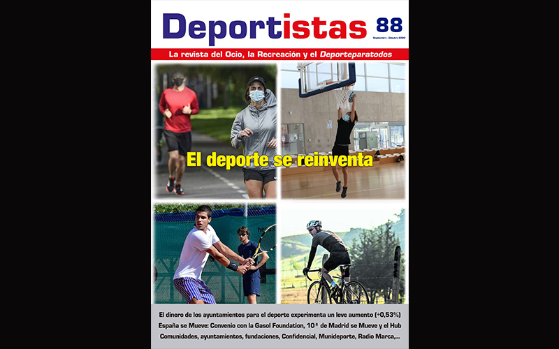 DISPONIBLE EL Nº 88 DE LA REVISTA DEPORTISTAS